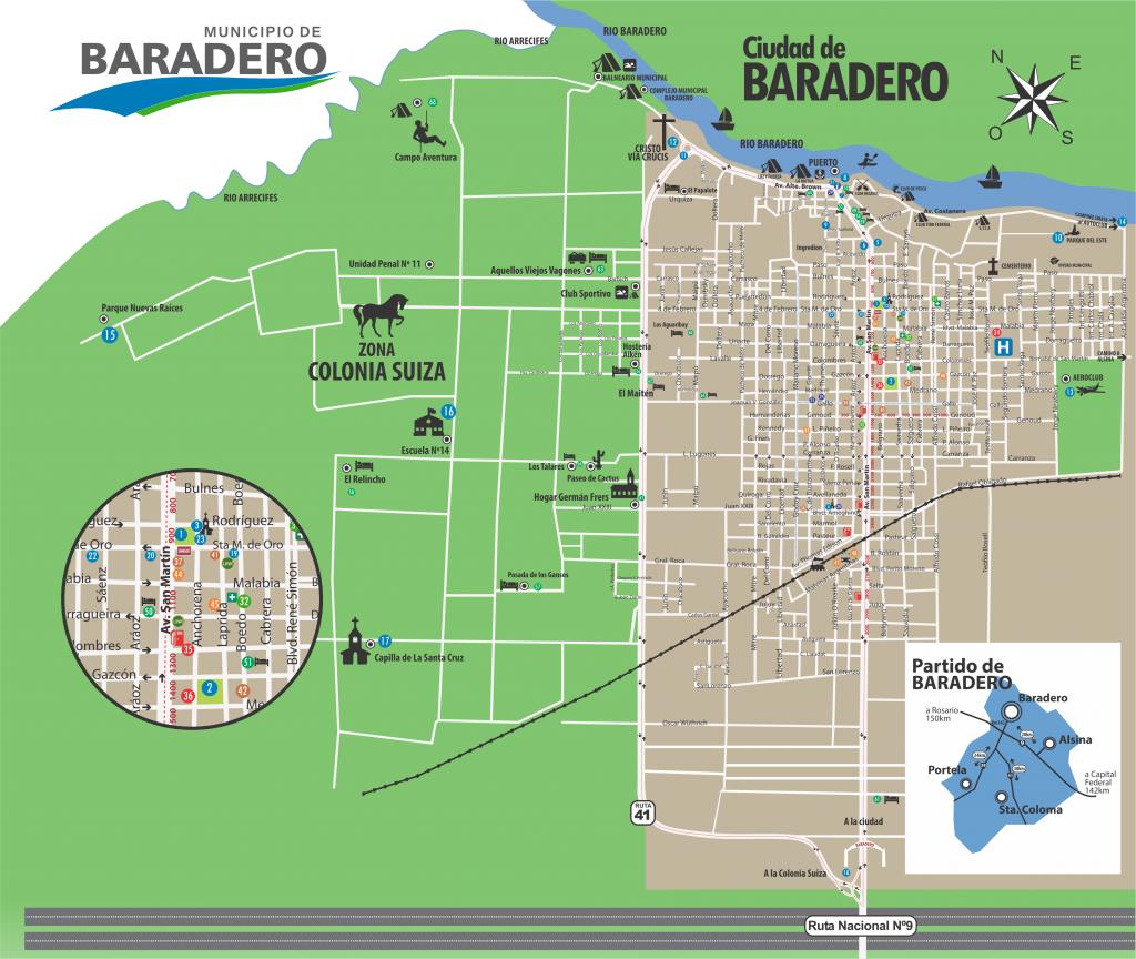 Mapa de Baradero